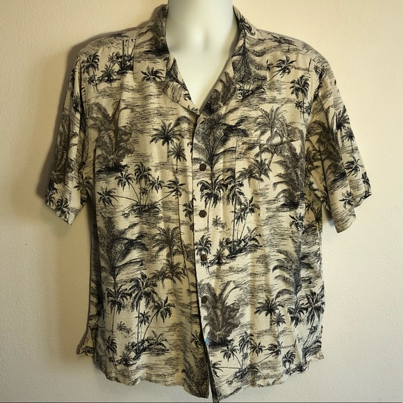 1786f44f Havana Jack's Cafe Other - Havana Jack's Men's XL 100% silk Hawaiian Shirt